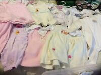 Baby Girls clothes age 0-3 months