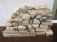 Sandstone bricks and lintels in excellent condition