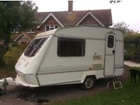 Elddis Elusion 350/2 Vogue 2 berth caravan