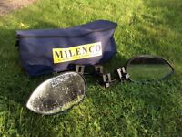 Milenco extension wing mirrors