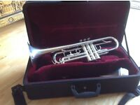 Trumpet silver plated- Besson London 1000 S