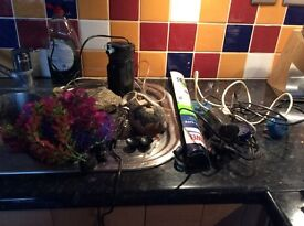 72ltr fish tank, full working order for tropical fish