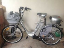 Electric bike - new