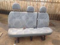 Ford transit mk7 triple seat