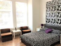 A large bedroom with private bathroom in West Ealing, suitable to couples, utility bills included