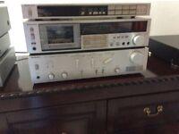 technics amplifier - Tape deck - tuner . No offers . No texts .