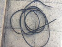 Wire armoured