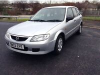 Low mileage Mazda 323 1.6 mot until November cheap reliable family runabout