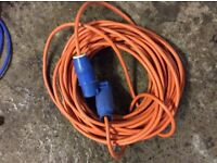 Caravan hook up cable longer length £10