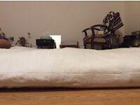 De luxe traditional Wood futon mattress Super king size