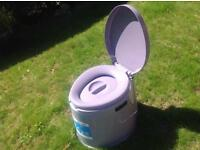 Kamba king khaki portable camping toilet