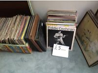 Vinyl records including a new lot just in from a house clearance