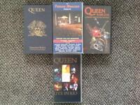 RARE QUEEN VCR TAPES