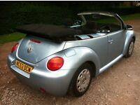 Vw beetle 1.4 convertible mot April 2017 power steering CD player 45+ mpg