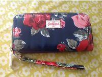 Cath Kidston ziptop oilcloth purse