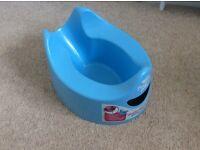 Blue potty