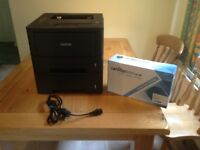 Brother Network laser printer HL 5450DN 2 drawer feed. For Spares Repair