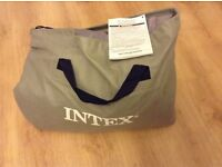 Intex Ultra Plush Queen Size Airbed with Built in Electric Pump