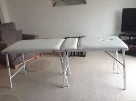 Massage table, portable