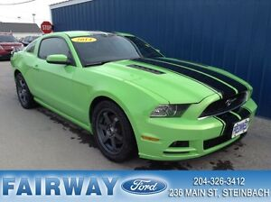 2014 Ford Mustang Coupe V6 Gotta Have IT Green! 6 spd *Manual*