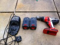 Black & decker cordless drill Drill does not work 2 18v batteries and charger working fine