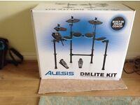 Alesis dmlite drum kit and drum stool