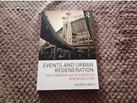 Events and Urban Regeneration: The Strategic use of Events to Revitalise Cities By Smith