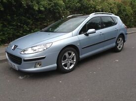 Peugeot 407 sw hdi diesel full loaded model