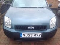 Ford Fusion 1.4 2 Durashift EST 5dr£2,295 p/x welcome FREE WARRANTY. NEW MOT
