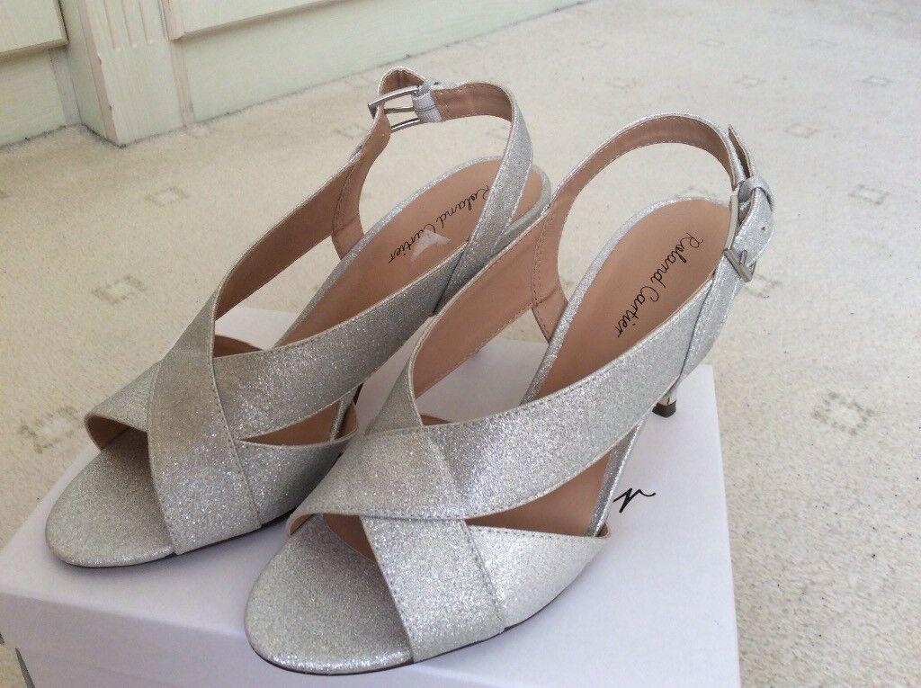 6939de83cb7a Silver Shoes size 5