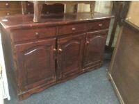 Vintage pine dresser base