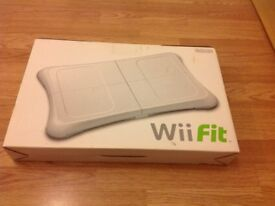Wii Fit Board boxed hardly used excellent condition
