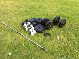 Weights and Dumbells