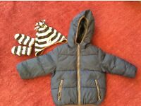 Zara Baby Boys Coat Size 86cm (18-24 month)