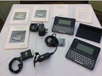 TWO ACORN POCKET BOOK 'PALMTOP' ORGANISERS (VERY SIMILAR TO THE PSION 3)