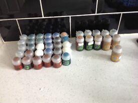Job Lot Citadel Paints All New - 41 in total
