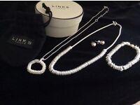 Links of London silver jewellery