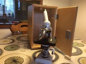 Russian microscope