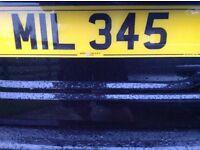 Cherished / Private Registration Number MIL 345