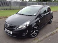 Stunning 2012 62 Vauxhall Cosa 1.4Turbo Black Edition 3Dr **1 Owner+Only 18000+Full History+More**