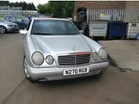 Mercedes E class 230 spares or repair mot until Apr 17
