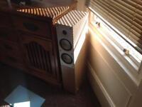 Nad 3140 vintage amplifier and Mordaunt short 906i speakers