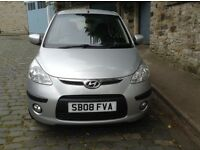 LOW MILEAGE HYUNDAI i10 FULL YEAR MOT NO ADVISORY JUST SERVICED £20 A YEAR ROAD TAX NICE WEE CAR!