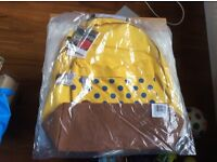 BNWT Mi PAC yellow spotted Rucksack