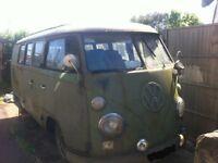 1965 VW 11 window Splitscreen Project LHD - Very Rare