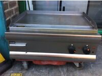 CATERING COMMERCIAL ELECTRIC FLAT GRILL FAST FOOD RESTAURANT KITCHEN KEBAB CHICKEN SHOP