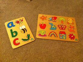 ELC Easy Grab Wooden Puzzles