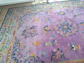 Antique Asian rug