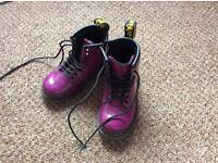 Doc Marten Boots infant size 6