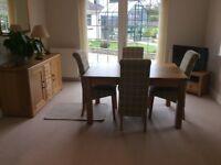 Oak dining room furniture for sale